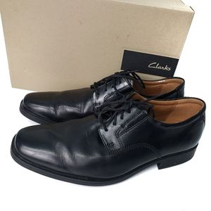 Clarks Leather Dress Shoes Oxford Size 10m